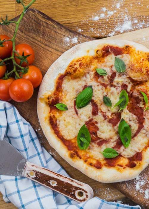 Bild von Vegane Pizza Margherita