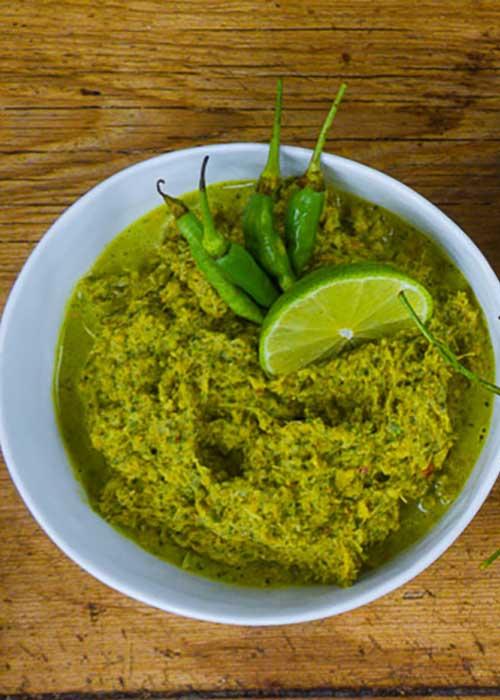 grüne-currypaste