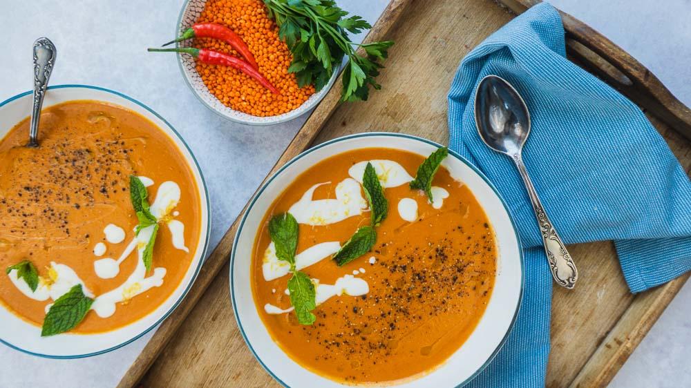 orientalische-linsensuppe-kreuzkümmel-minzjoghurt